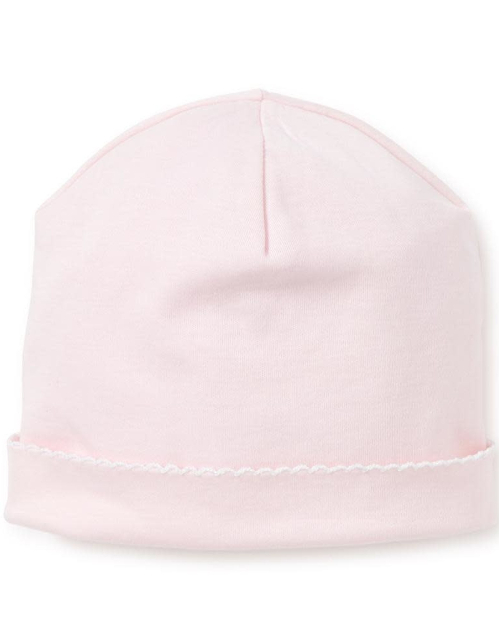 Kissy Kissy Basic Hat  Pink/White Stitching