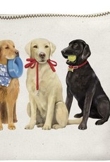 Mary Lake Thompson Dog Friends Canvas Pouch