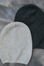 Frost Slouchy Hat Merino Cashmere Dark Green