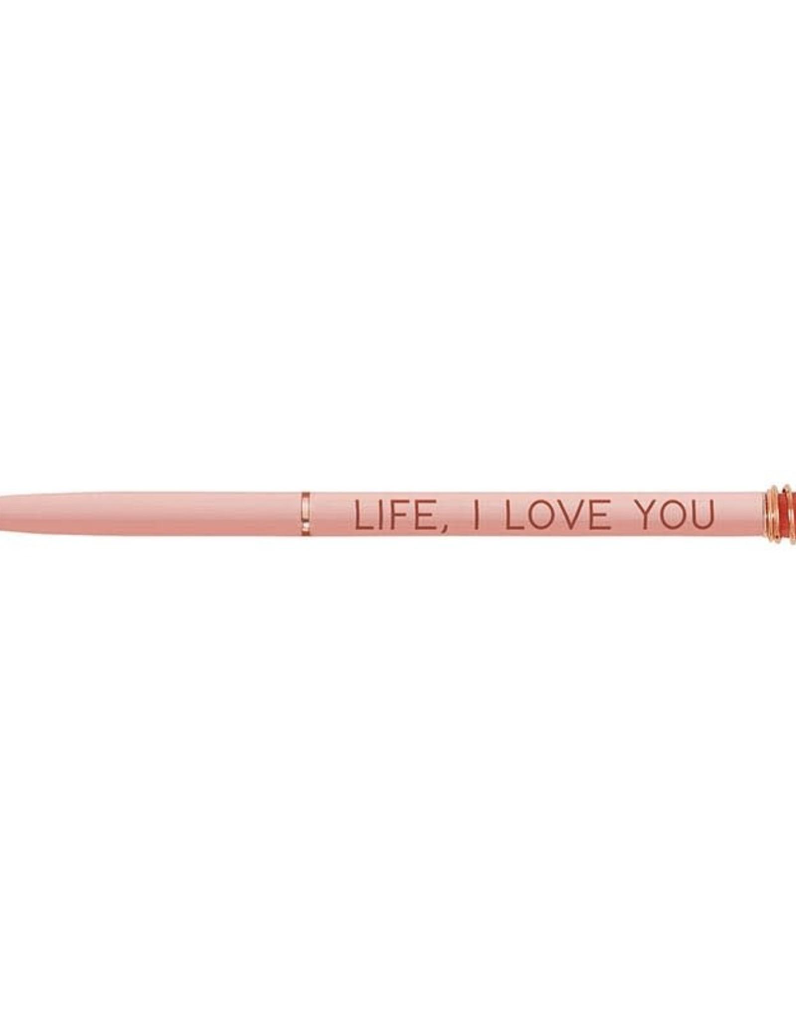 Santa Barbara Design Studio Pen Life I Love You
