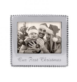 Mariposa Our First Christmas Frame 5x7