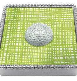Mariposa Golf Ball Napkin Box