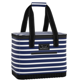 Scout Stiff One Insulated Tote Nantucket Navy