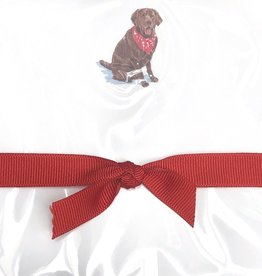 Doodle Notepad Chocolate Lab