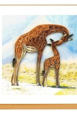 Quilling Card LLC Card Giraffes