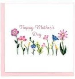 Quilling Card LLC Card Mothers Day Wildflowers