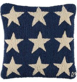 Pillow 18x18 Blue Fire Stars