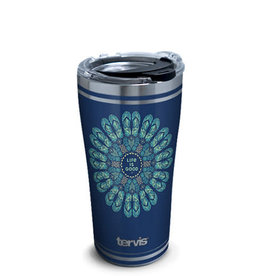 Tervis Tumbler 20oz Flip Flop Stainless Life Is Good