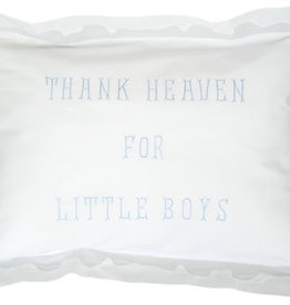 gerbrend Creations Pillow Thank Heaven for Little Boys