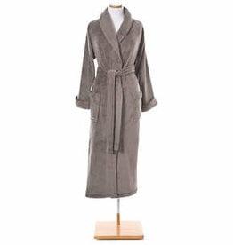 Pine Cone Hill Sheepy Fleece Robe Pebble One Size