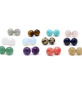 Crafts and Love Green Gem Studs
