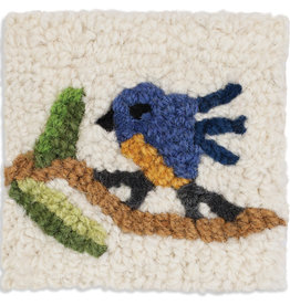 Blue Bird Coaster Set/4
