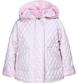 Widgeon Light Pink Hooded Barn Jacket