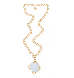 Fornash Necklace Madeline White w/Monogram