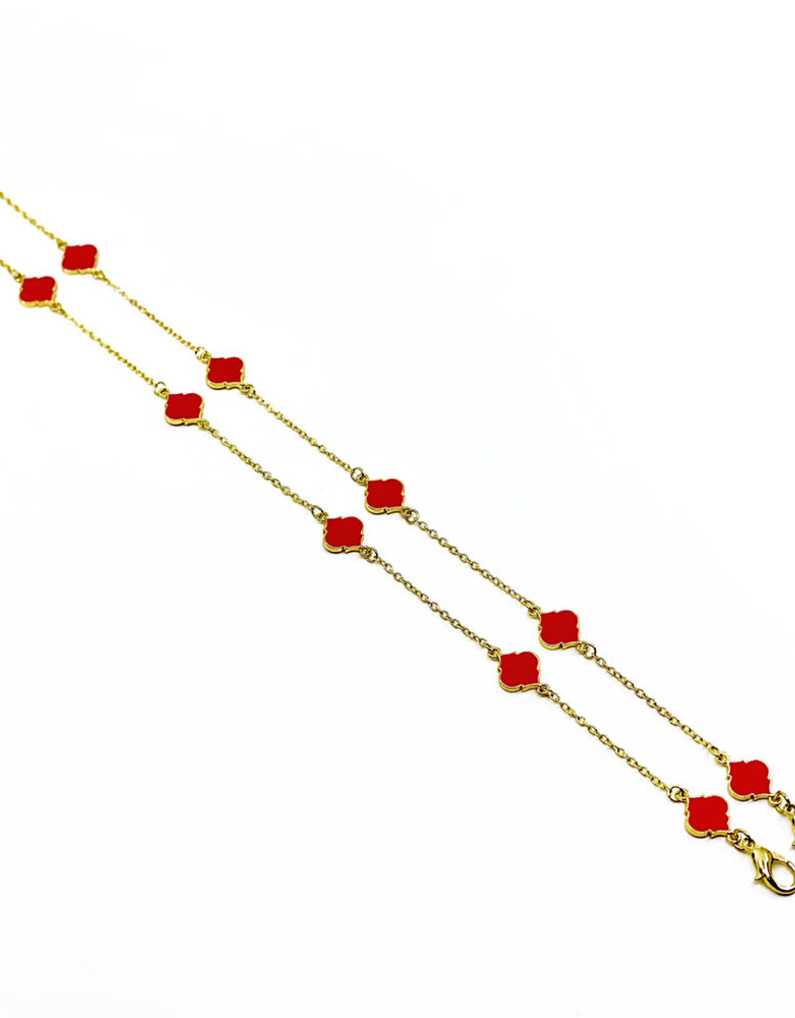 Fornash Spade Mask Chain Pink