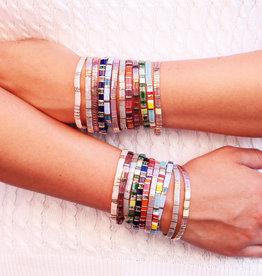 Fornash Tila Bead Bracelet