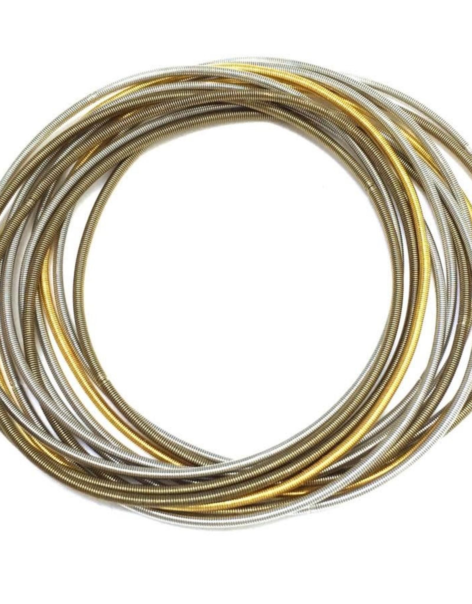 Sea-Lily Multi Silver & Gold Unbound Bracelets