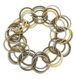 Sea-Lily Multi Spring Ring Bracelet