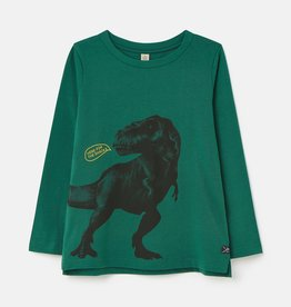 Joules Tee Green Dino