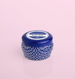 Capri Blue Signature Blue Mini Tin Candle Blue Jean