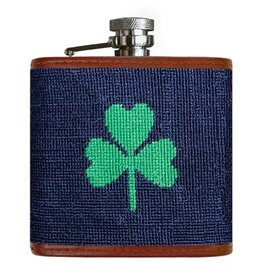 Smather's & Branson Flask Shamrock
