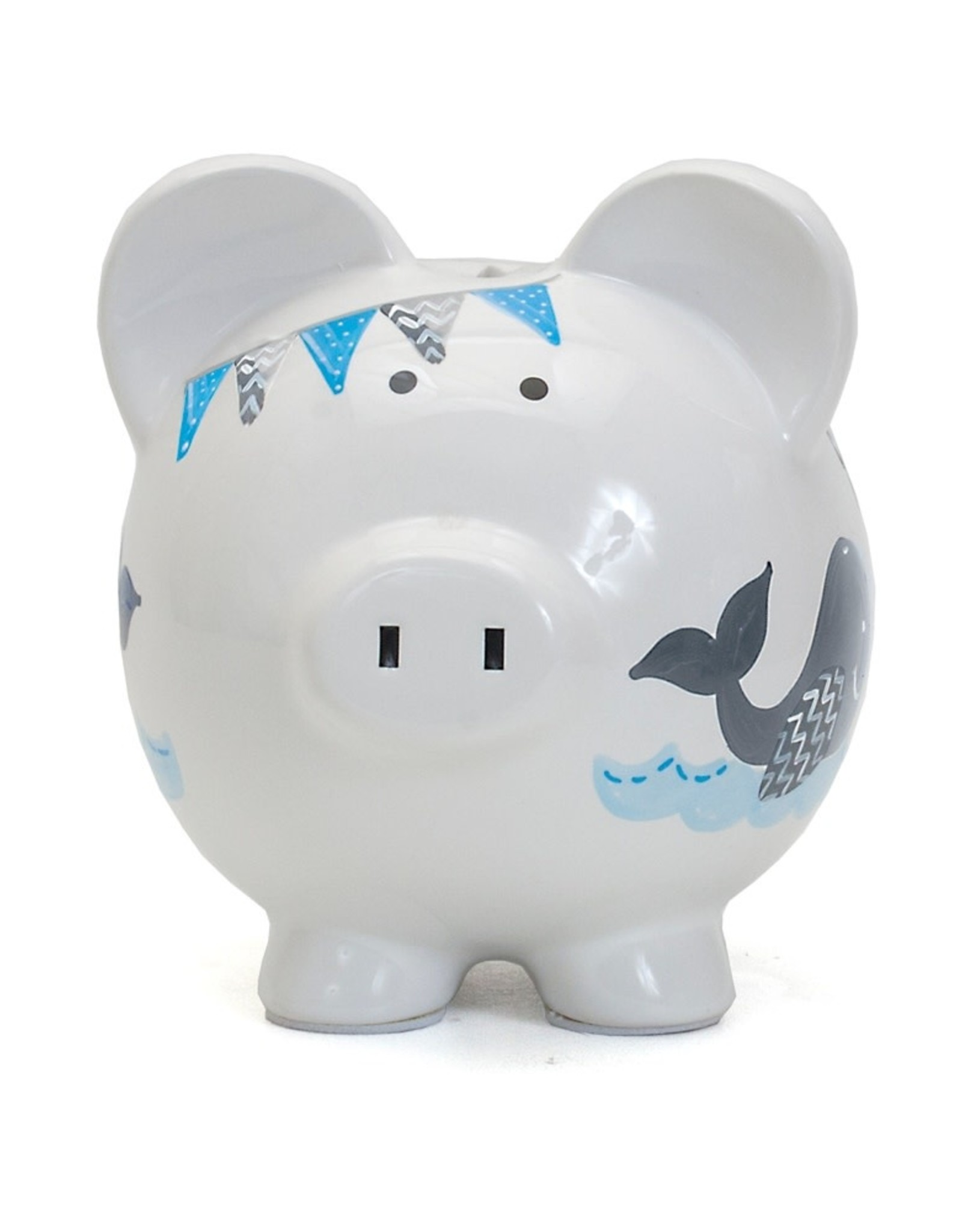 Child to Cherish Blue Whale Pig Bank