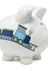 Child to Cherish Box Car Train Bank