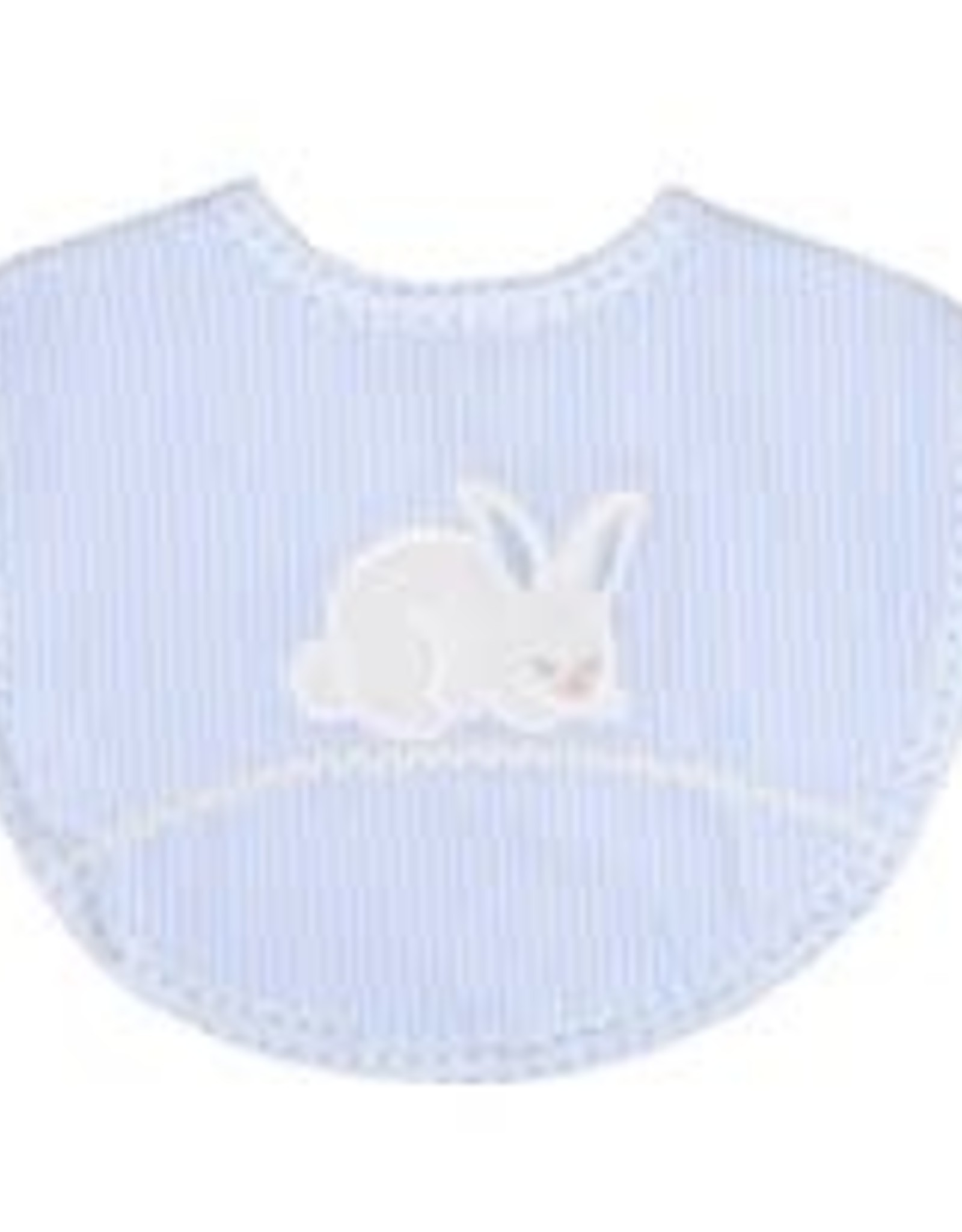 Three Marthas Basic Bib Blue Bunny