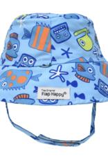 Flap Happy Bucket Hat Somethings Fishy
