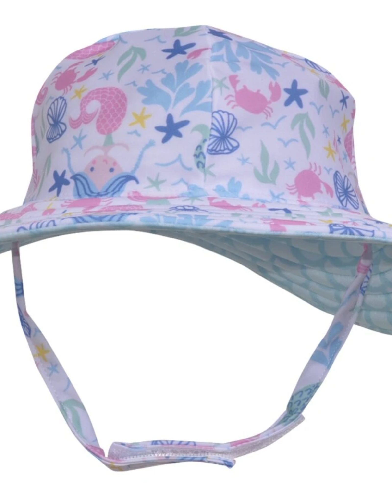 Flap Happy Swim Hat Mermaid Lagoon