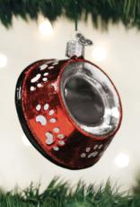 Dog Bowl Ornament