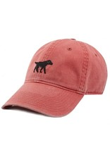 Smather's & Branson Hat Black Lab Nantucket Red