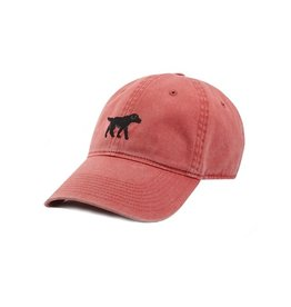 Smather's & Branson Hat Black Lab Nantucket Red