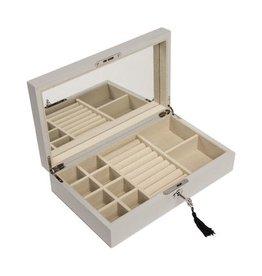 Brouk & Co Jewelry Box Silver