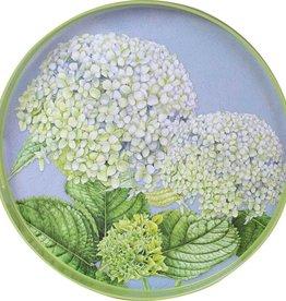 """Rockflowerpaper Tray Blue Hydrangeas 15"""""""