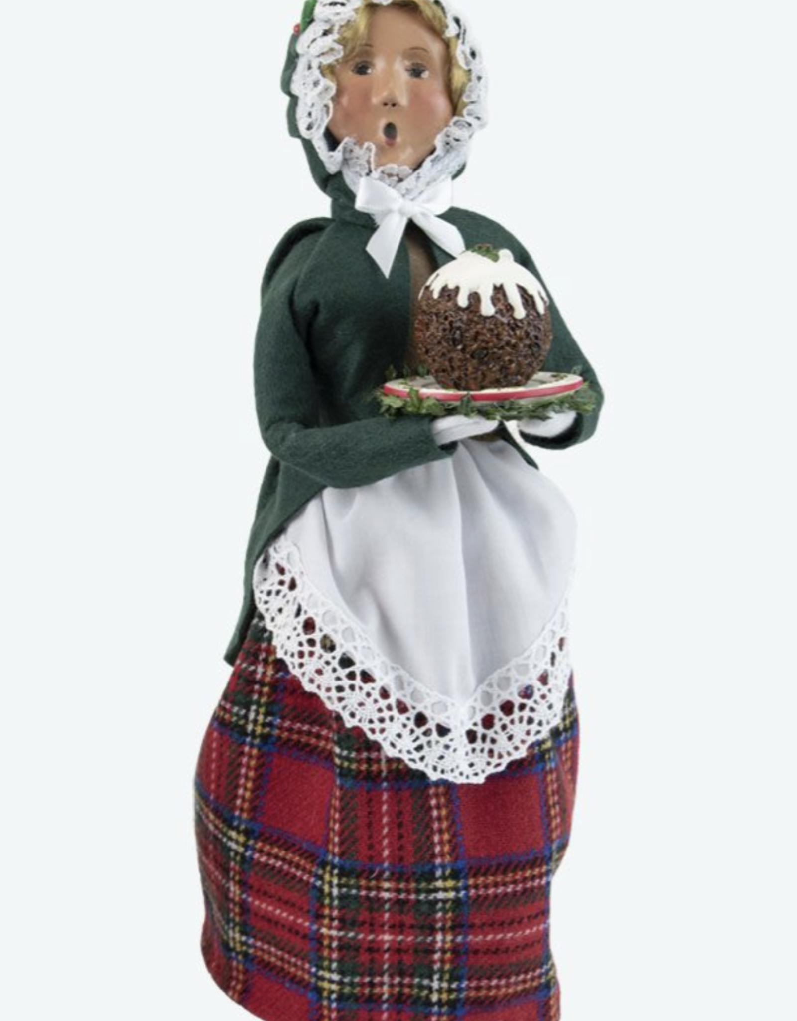 Woman w/Christmas Sweets