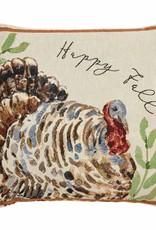 Turkey Tapestry Pillow