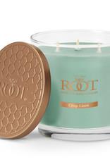 Root Candles 3 Wick 12oz Candle Crisp Linen Sky