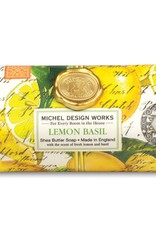 Michel Design Works Bath Bar Soap Lemon Basil