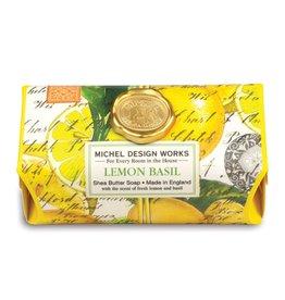Michel Design Works Bath Bar Soap Lemon Basil