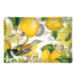 Michel Design Works Glass Dish Lemon Basil