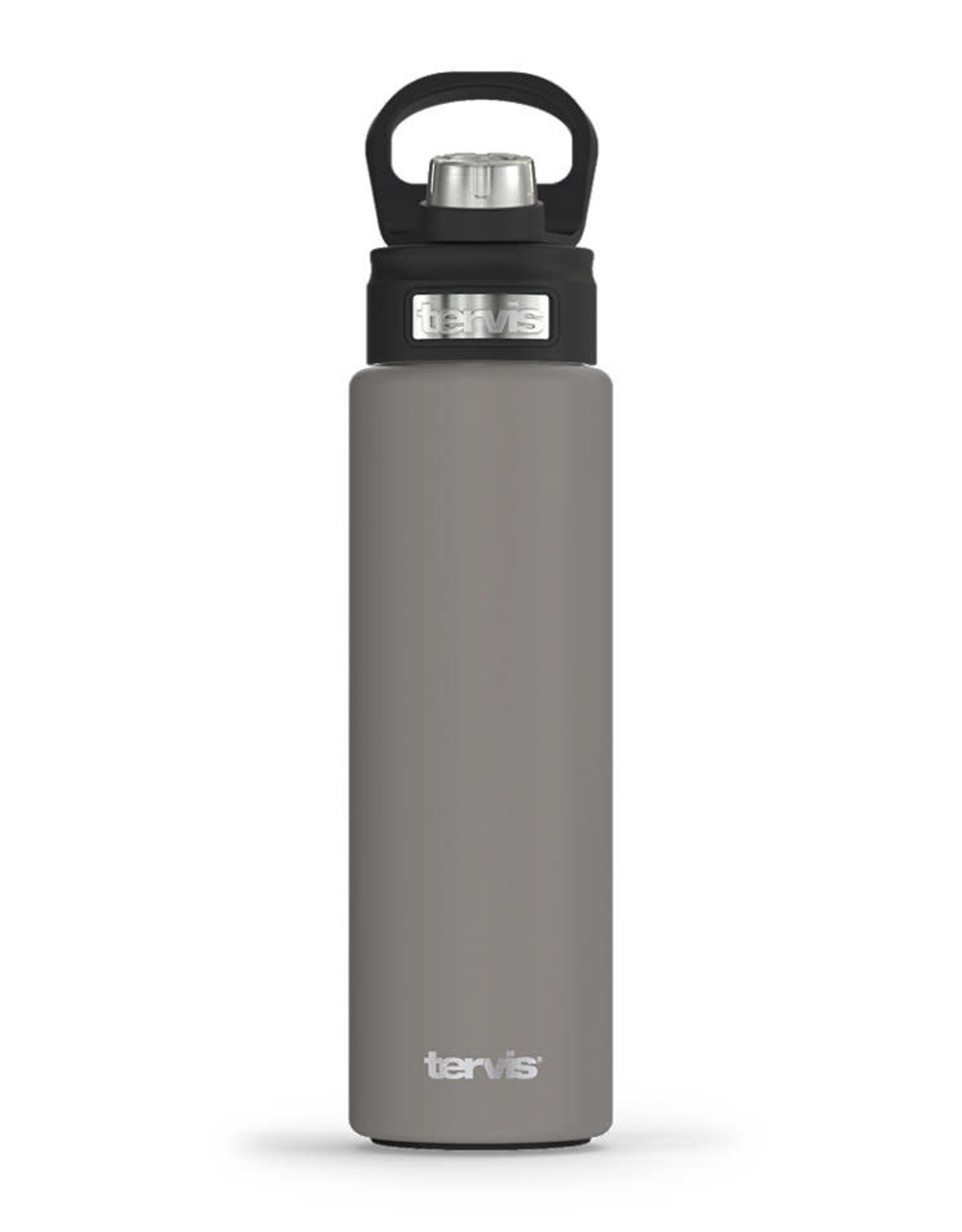 Tervis Tumbler 24oz Stainless Water Bottle River Rock Powder Coated
