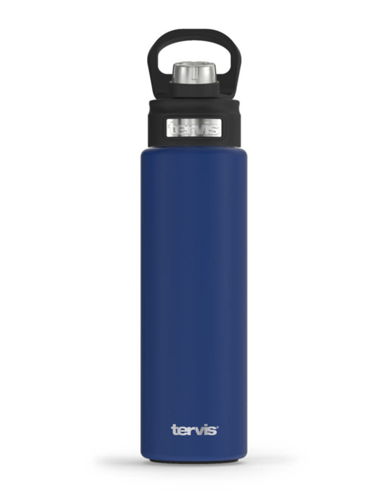 Tervis Tumbler 24oz Stainless Water Bottle Deepwater Blue Powder Coated