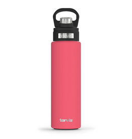 Tervis Tumbler 24oz Stainless Water Bottle Berry Blush Powder Coated