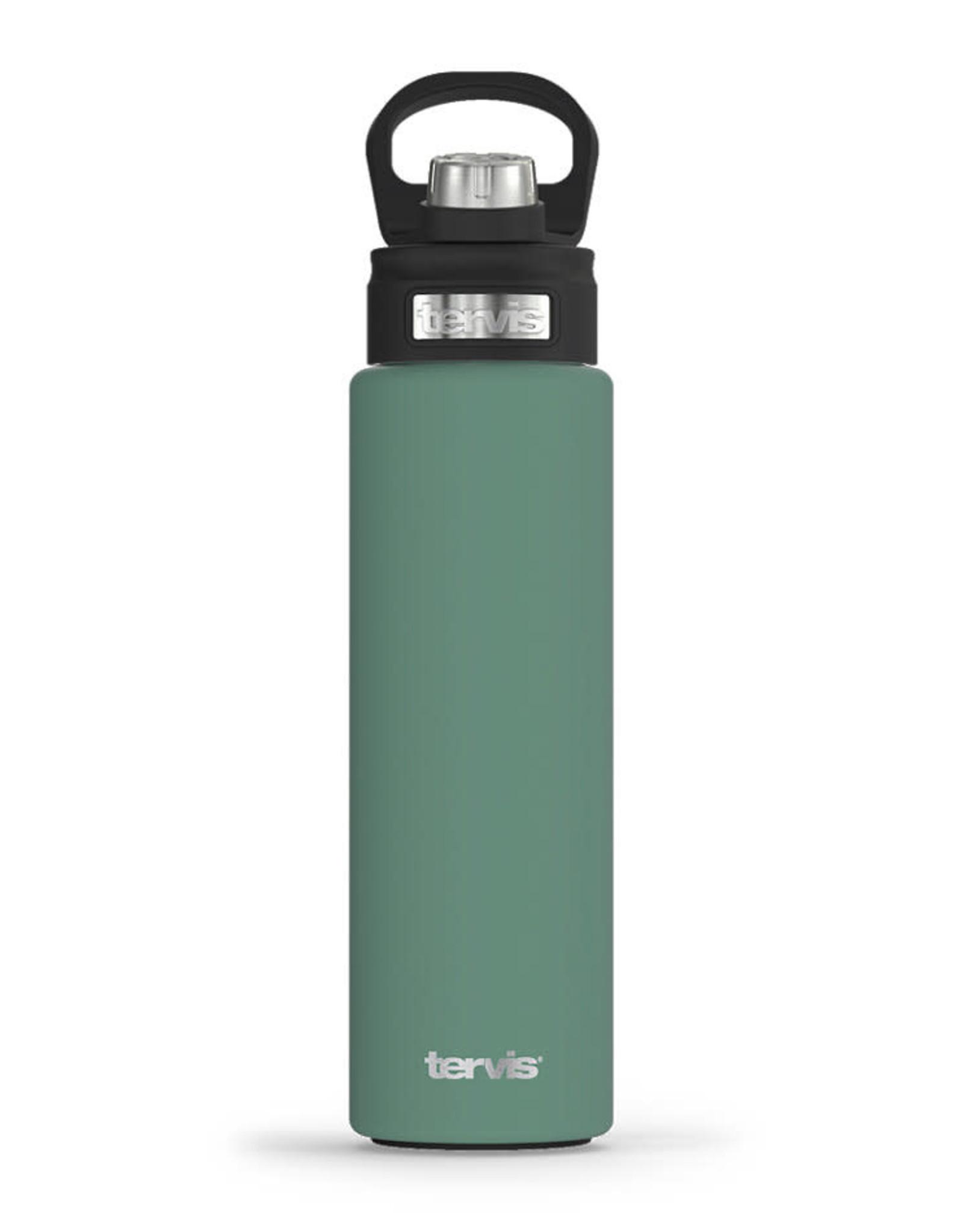 Tervis Tumbler 24oz Stainless Water Bottle Aloe Green Powder Coated