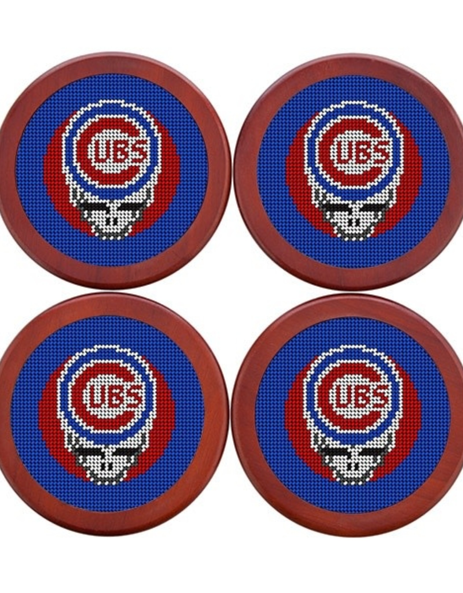 Smather's & Branson Coaster Set Chicago Cubs Steal Your Face
