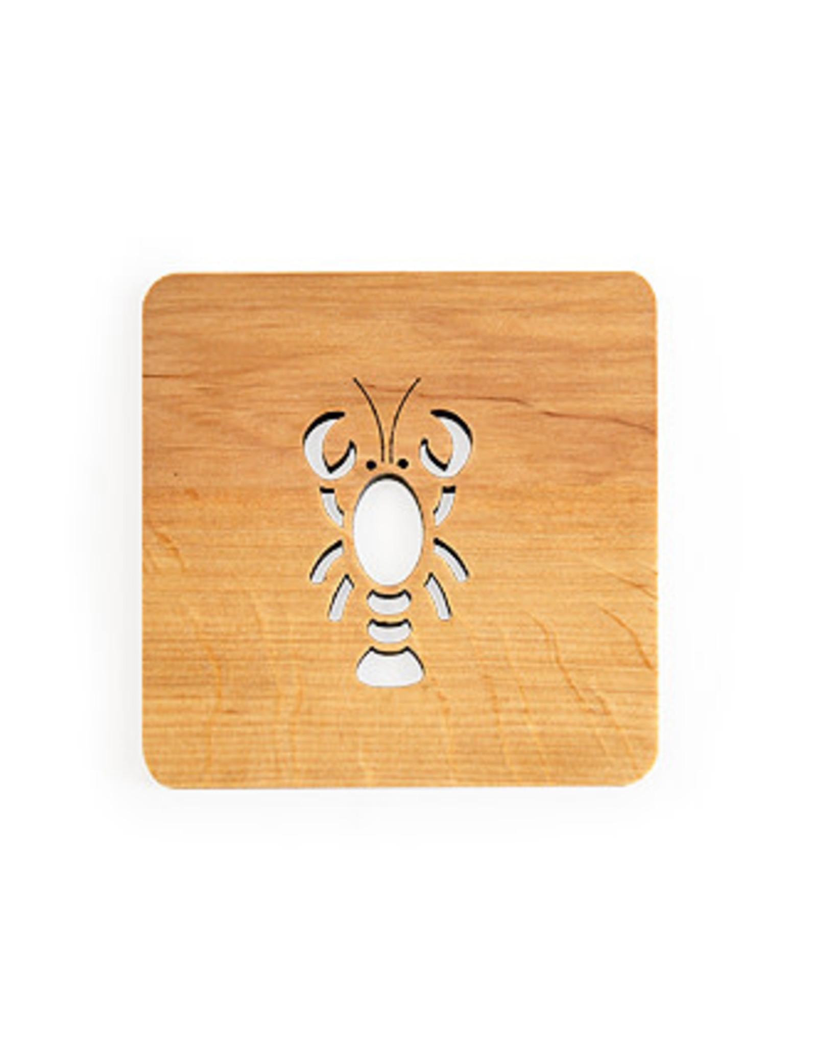 Nordic Dreams Lobster Coaster Set/4