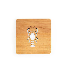 Nordic Dreams Lobster Coaster Set/4