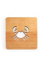 Nordic Dreams Crab Coaster Set/4