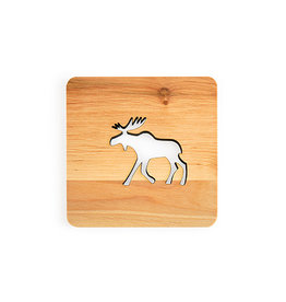 Nordic Dreams Moose Coaster Set/4